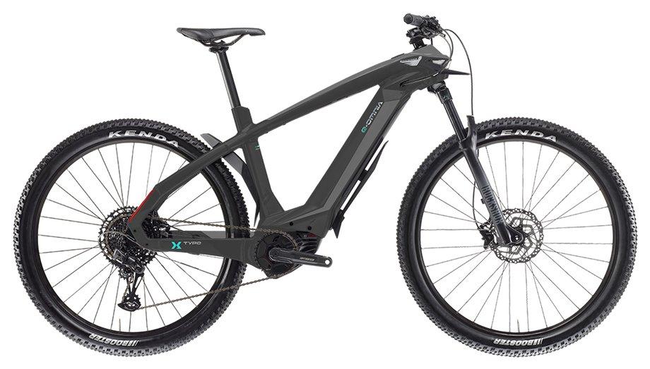E-Bikes/e-bike: Bianchi  E-Omnia X Type SX Grau Modell 2021