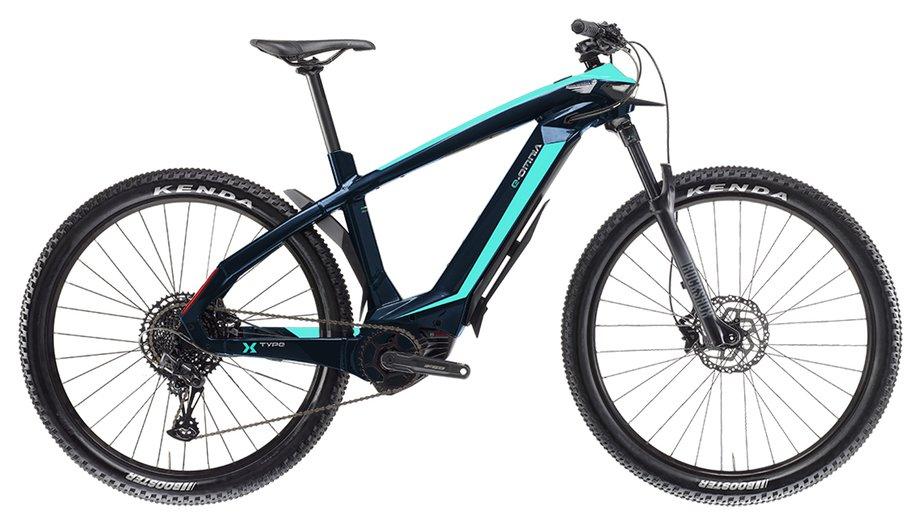E-Bikes/e-bike: Bianchi  E-Omnia X Type SX Blau Modell 2021