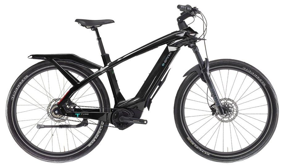 E-Bikes/e-bike: Bianchi  E-Omnia T Type Man Nexus Schwarz Modell 2021