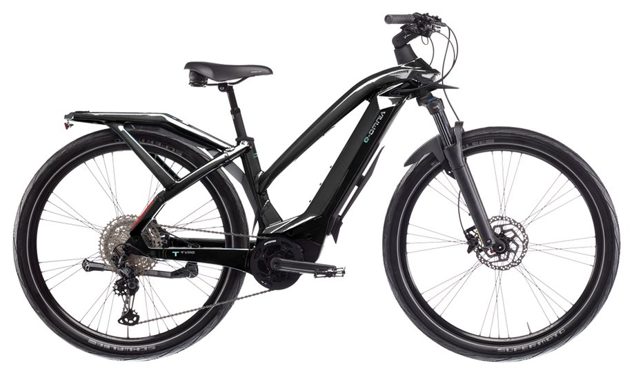 E-Bikes/e-bike: Bianchi  E-Omnia T Type Lady XT Schwarz Modell 2021
