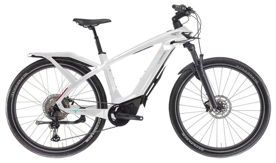 E-Bikes/e-bike: Bianchi  E-Omnia T Type Man XT Weiß Modell 2021
