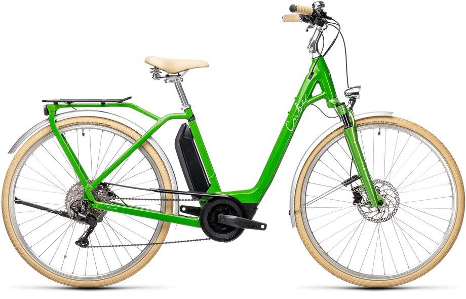 Cube Ella Ride Hybrid 500 Grün Modell 2021