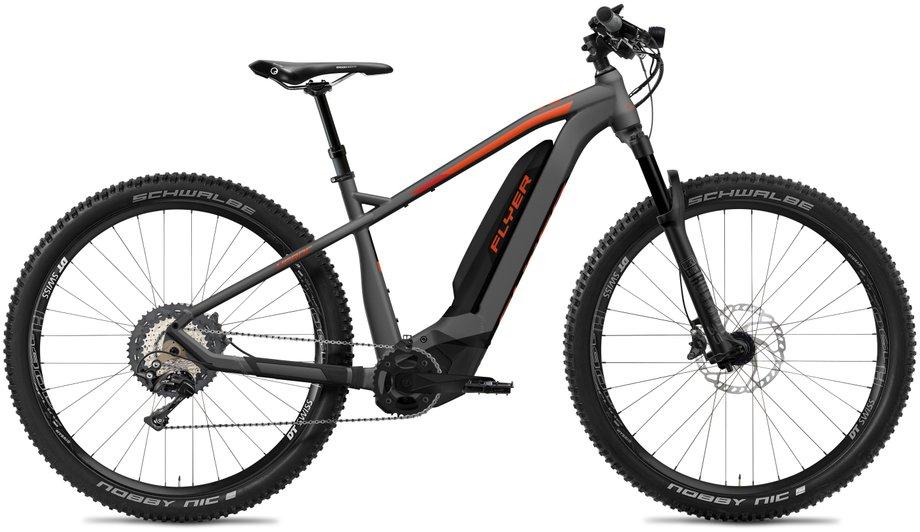 E-Bikes/e-bike: Flyer  Uproc2 8.70 - D0 Grau Modell 2020