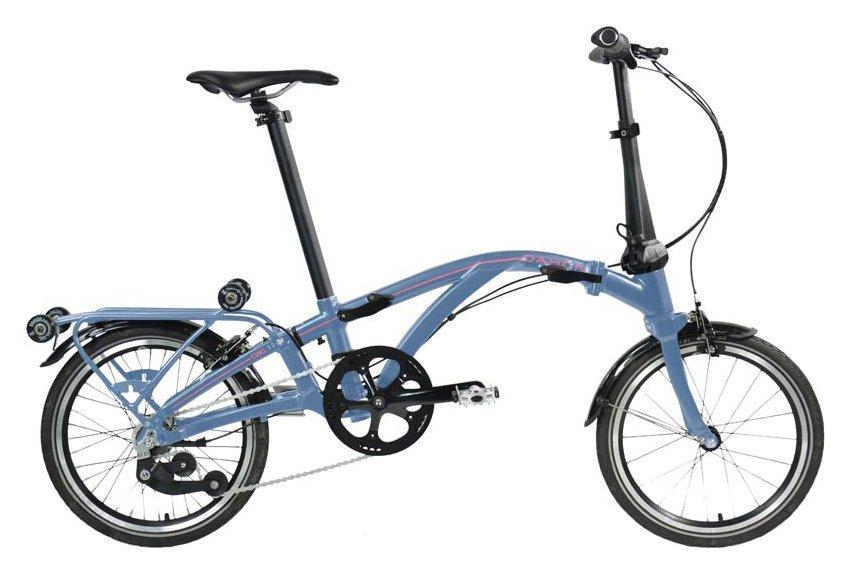 Fahrräder/klappräder: Dahon  Curl I7 (Flipfolding) Blau Modell 2021