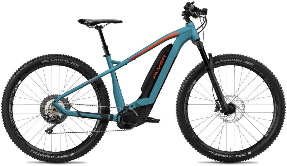 E-Bikes/e-bike: Flyer  Uproc2 8.70 - D0 Blau Modell 2020
