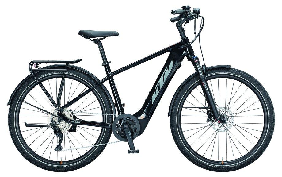 E-Bikes/e-bike: KTM  Macina Gran 291 Schwarz Modell 2021