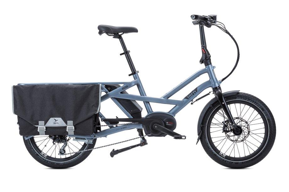 Fahrräder/lastenfahrräder: Tern  GSD S10 LR mit Beleuchtung Silber Modell 2020