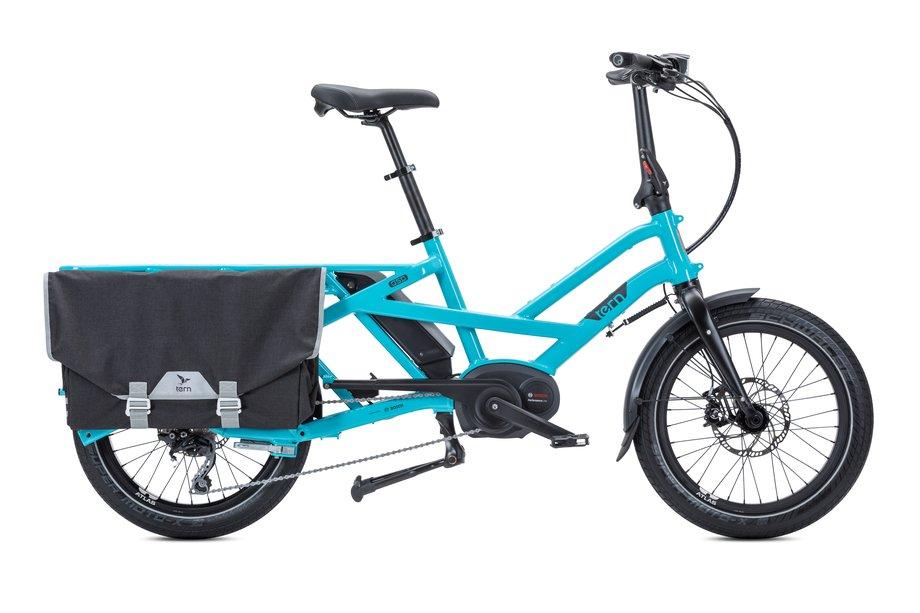 Fahrräder/lastenfahrräder: Tern  GSD S10 LR mit Beleuchtung Blau Modell 2020