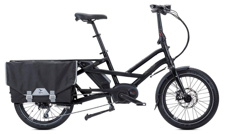 Fahrräder/lastenfahrräder: Tern  GSD S10 LR mit Beleuchtung Schwarz Modell 2020