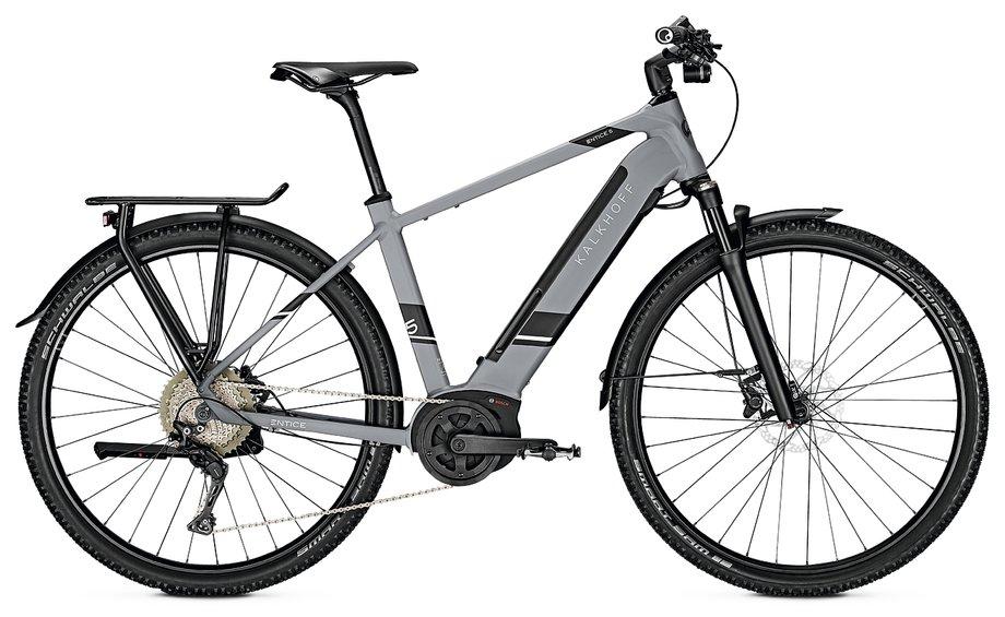 Kalkhoff Entice 5.B Excite E Bike Grau Modell 2020