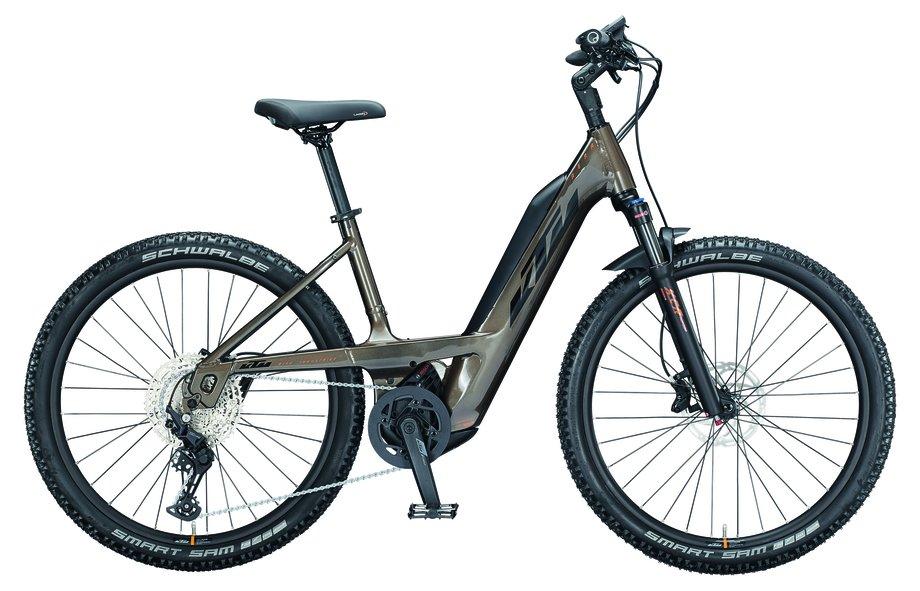 E-Bikes/e-bike: KTM  Macina Aera 271 Braun Modell 2021