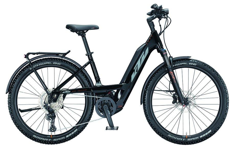 E-Bikes/e-bike: KTM  Macina Aera 271 LFC Schwarz Modell 2021
