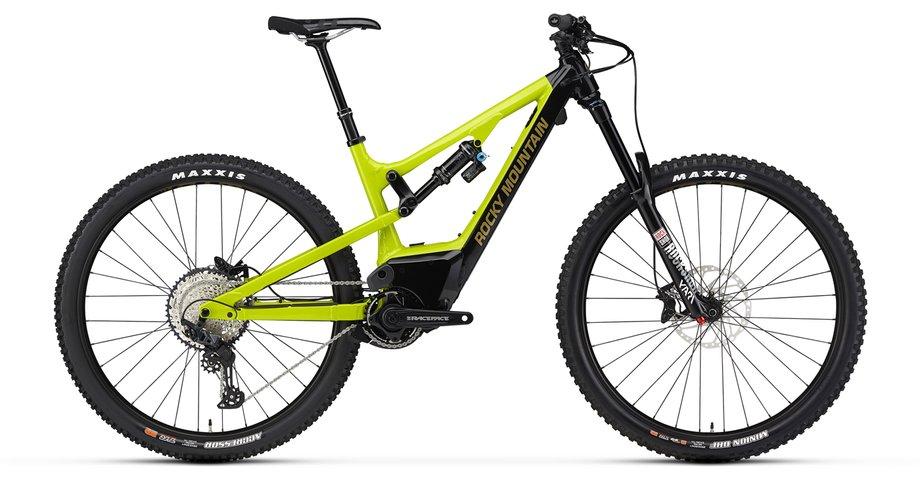 E-Bikes/e-bike: Rocky Mountain  Instinct Powerplay Alloy 50 BC Edition Schwarz Modell 2020