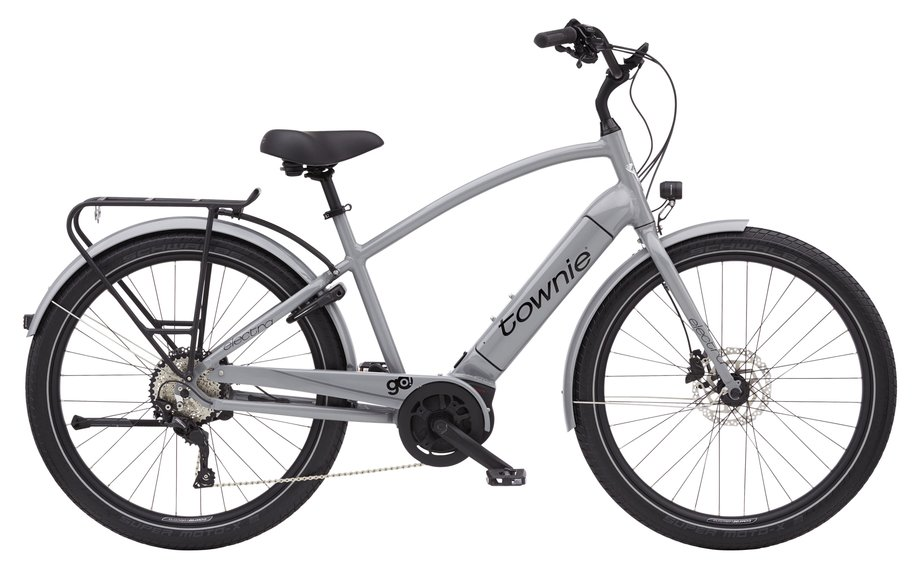 E-Bikes/e-bike: Electra  Townie Path Go! 10D Step-Over Grau Modell 2021