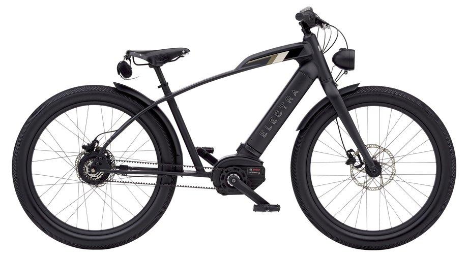 E-Bikes/e-bike: Electra  Café Moto Go! Schwarz Modell 2021