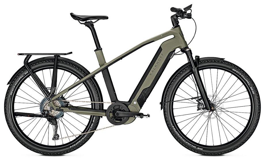 Kalkhoff Entice 7.B Excite E Bike Grün Modell 2020