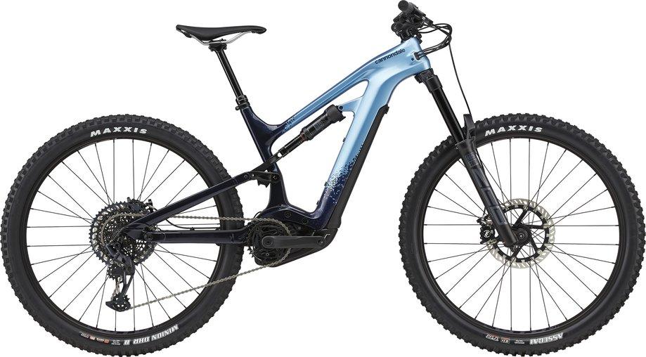 E-Bikes/e-bike: Cannondale  Moterra Neo Carbon 2 Blau Modell 2021