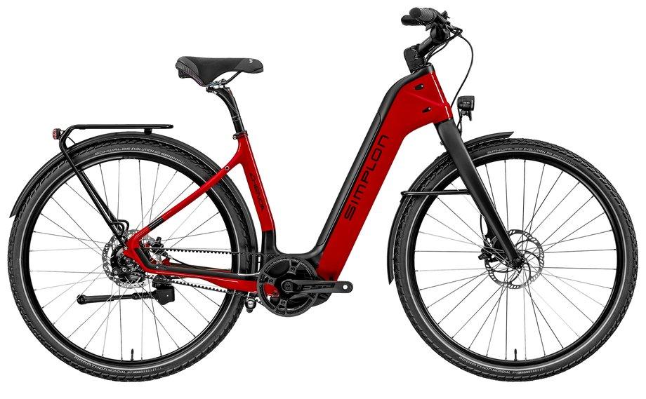 E-Bikes/e-bike: Simplon  Chenoa Bosch CX Uni XT-11 Rot Modell 2020