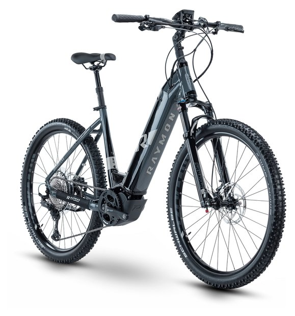 E-Bikes/e-bike: Raymon Raymon CrossRay E 8.0 Schwarz Modell 2020