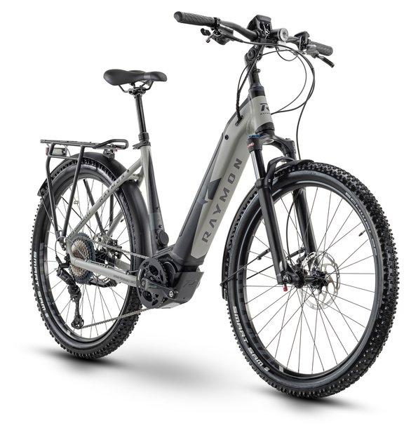 E-Bikes/e-bike: Raymon Raymon CrossRay E 8.5 Street Schwarz Modell 2020