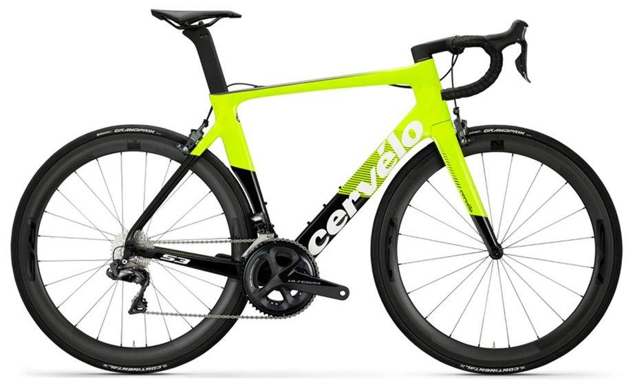 Fahrräder/rennräder: Cervelo  S3 Ultegra Di2 R8050 Grün Modell 2019
