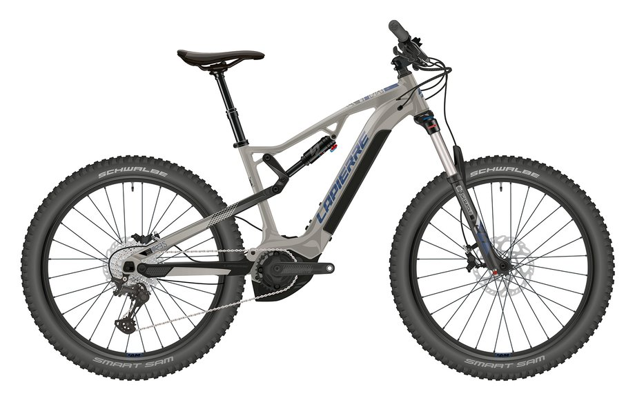 E-Bikes/e-bike: Lapierre  Overvolt TR 3.5 Grau Modell 2021