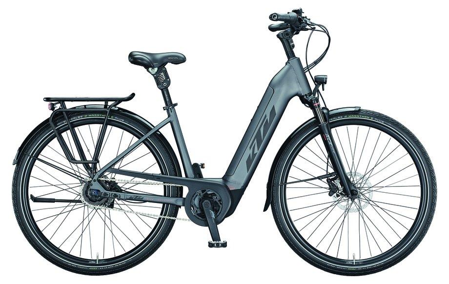 E-Bikes/e-bike: KTM  Macina City Xl Grau Modell 2021