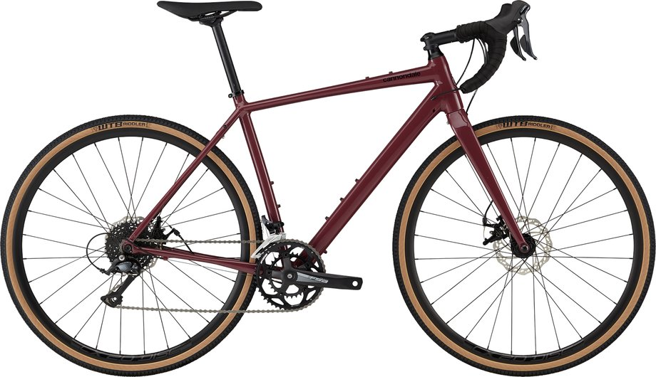Fahrräder/rennräder: Cannondale  Topstone 3 Rot Modell 2021