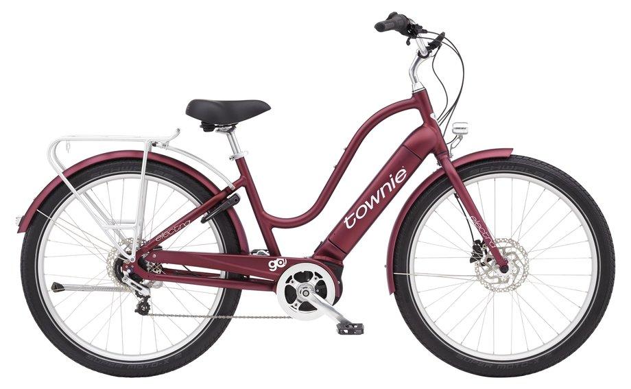 E-Bikes/e-bike: Electra  Townie Path Go! 5i Step-Thru Rot Modell 2021