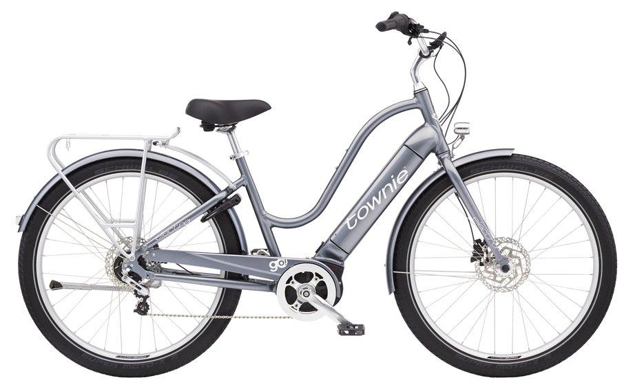 E-Bikes/e-bike: Electra  Townie Path Go! 5i Step-Thru Silber Modell 2021