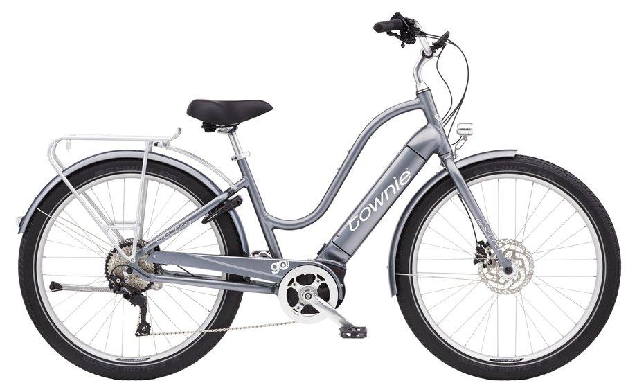 E-Bikes/e-bike: Electra  Townie Path Go! 10D Step-Thru Silber Modell 2021