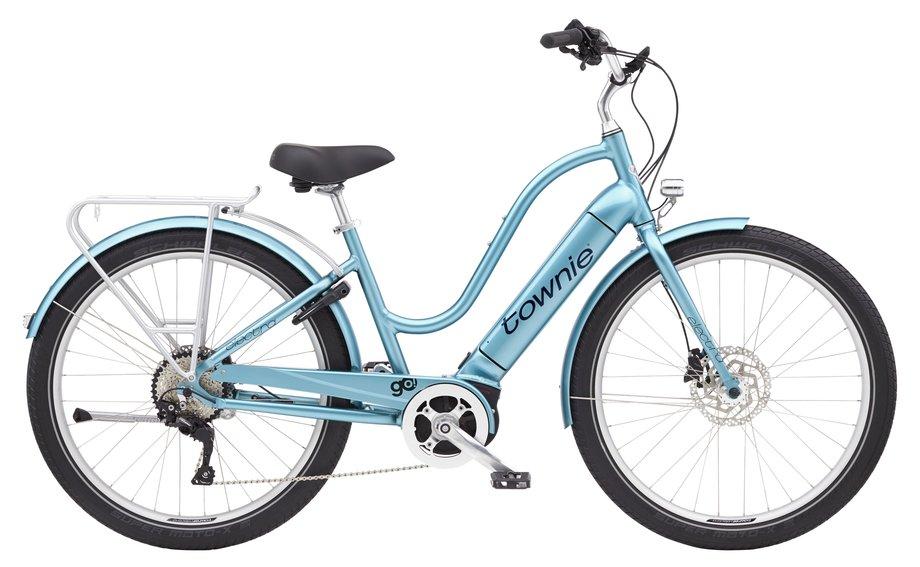 E-Bikes/e-bike: Electra  Townie Path Go! 10D Step-Thru Blau Modell 2021