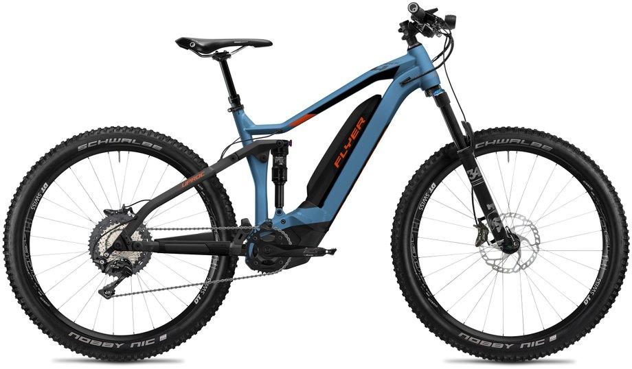 E-Bikes/e-bike: Flyer  Uproc4 8.70 - D0 Blau Modell 2020