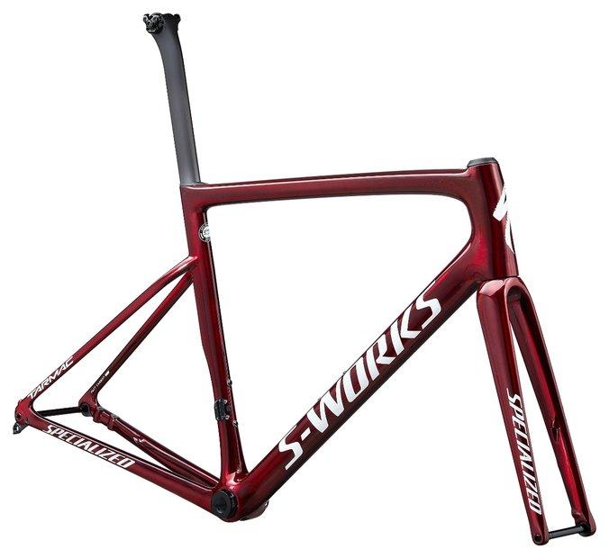 fahrradrahmen/Rahmen: Specialized  Tarmac SL6 S-Works Disc Rahmenset Rot Modell 2020