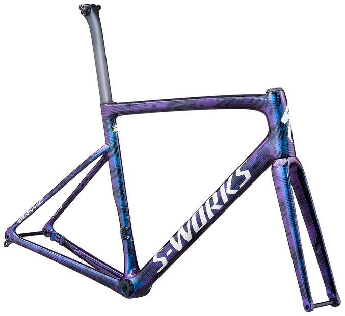 fahrradrahmen/Rahmen: Specialized  Tarmac SL6 S-Works Disc Rahmenset Lila Modell 2020