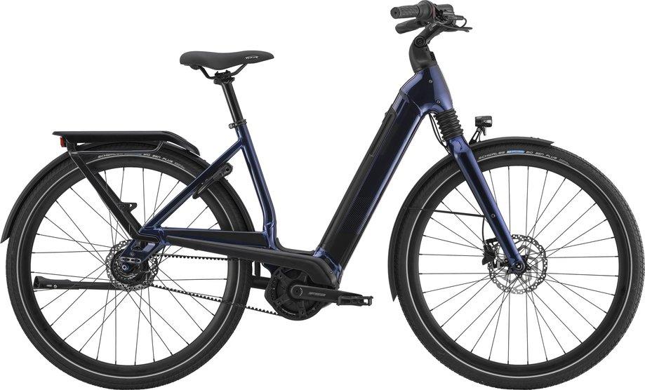 E-Bikes/e-bike: Cannondale  Mavaro Neo 4 Blau Modell 2021