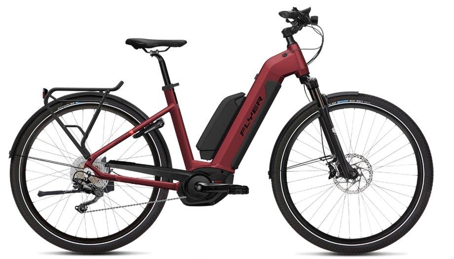 E-Bikes/e-bike: Flyer  Upstreet4 7.70 Rot Modell 2019