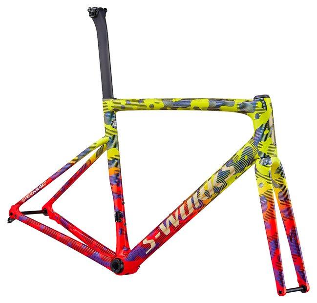 fahrradrahmen/Rahmen: Specialized  Tarmac SL6 S-Works Disc Rahmenset Gelb Modell 2020