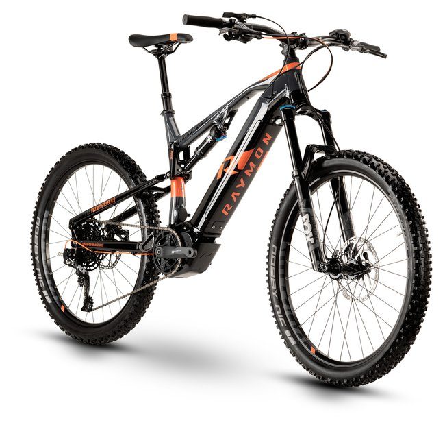E-Bikes/e-bike: Raymon Raymon FullRay E-Nine 8.0 Schwarz Modell 2020