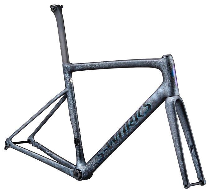 fahrradrahmen/Rahmen: Specialized  Tarmac SL6 S-Works Disc Rahmenset Grau Modell 2020