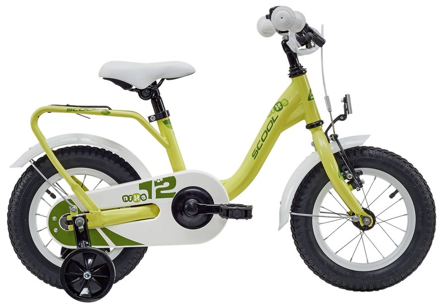 Kinderfahrrad - S'cool niXe Steel 12 Kinderfahrrad Gelb Modell 2019 - Onlineshop