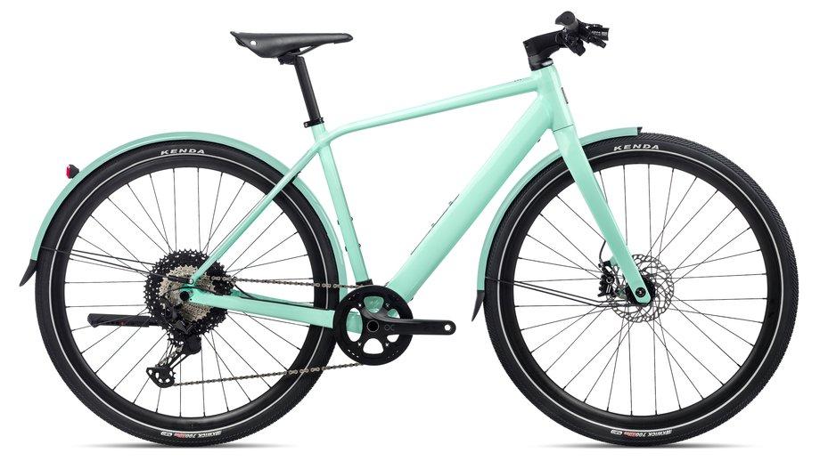 E-Bikes/e-bike: Orbea  Vibe H10 MUD Grün Modell 2021