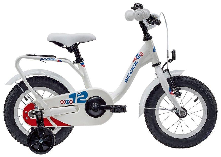 Kinderfahrrad - S'cool niXe Steel 12 Kinderfahrrad Weiß Modell 2019 - Onlineshop
