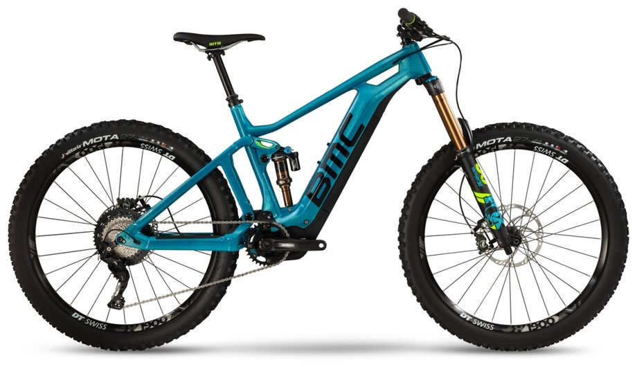 E-MTB Fully E-Bike BMC Trailfox AMP SX Blau  *