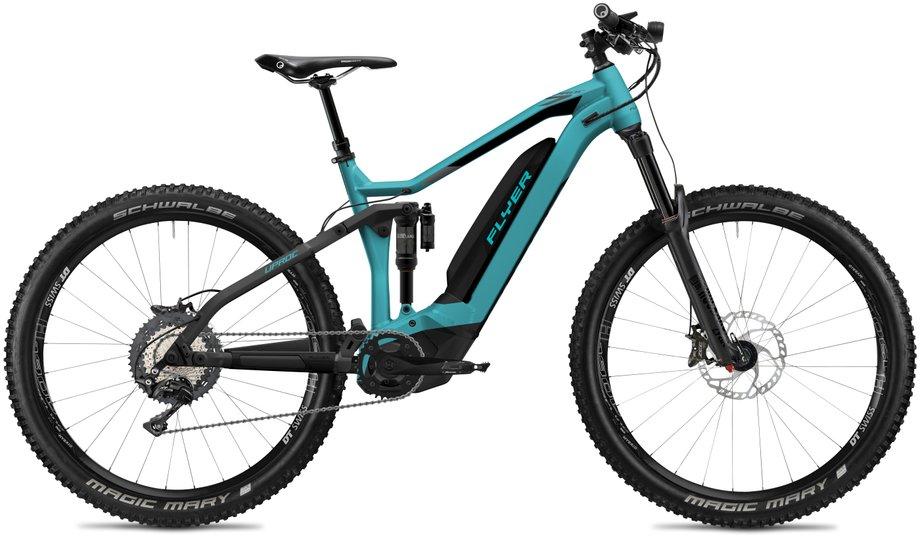 E-Bikes/e-bike: Flyer  Uproc7 8.70 - D0 Blau Modell 2020