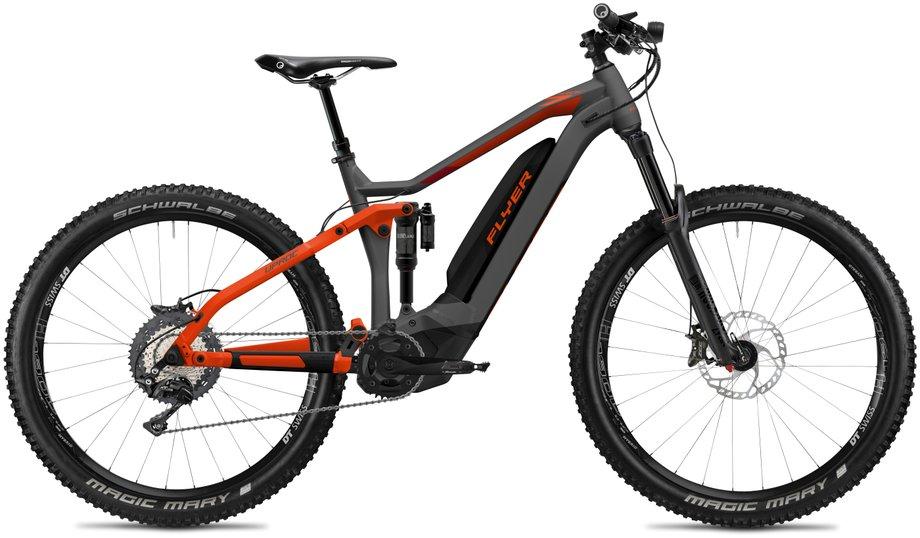 E-Bikes/e-bike: Flyer  Uproc7 8.70 - D0 Grau Modell 2020