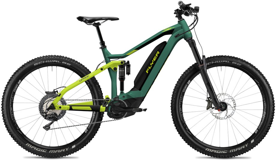 E-Bikes/e-bike: Flyer  Uproc7 8.70 - D0 Grün Modell 2020