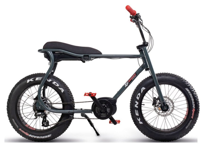 E-Bikes/e-bike: Ruff Cycles  Lil Buddy Go Brown Grau Modell 2021