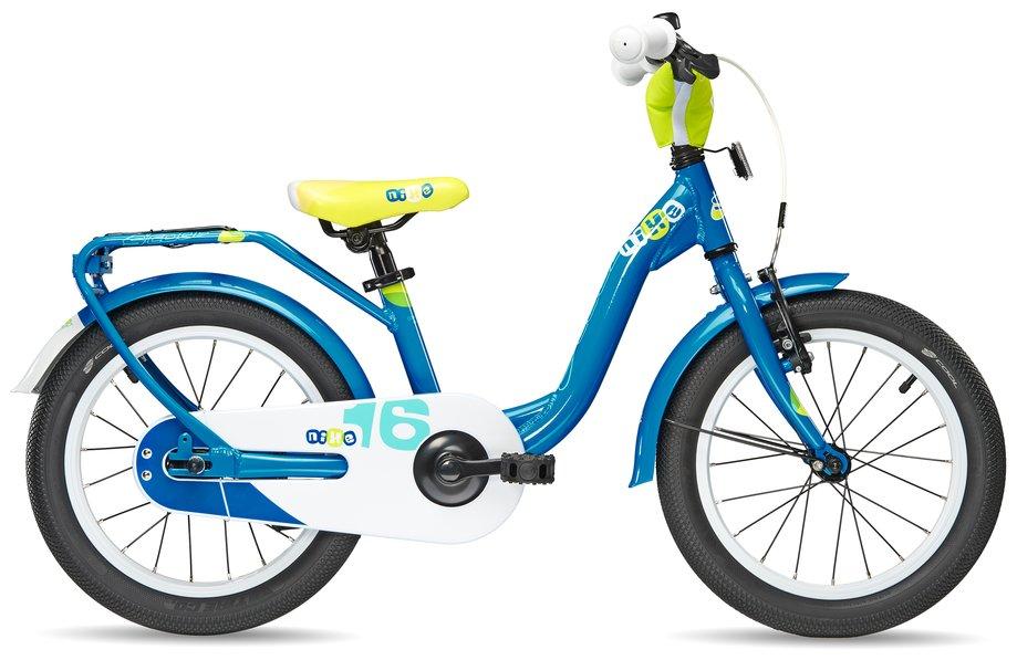 Kinderfahrrad - S'cool niXe Alloy 16 Kinderfahrrad Blau Modell 2018 - Onlineshop