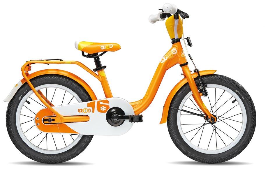 Kinderfahrrad - S'cool niXe Alloy 16 Kinderfahrrad Orange Modell 2018 - Onlineshop